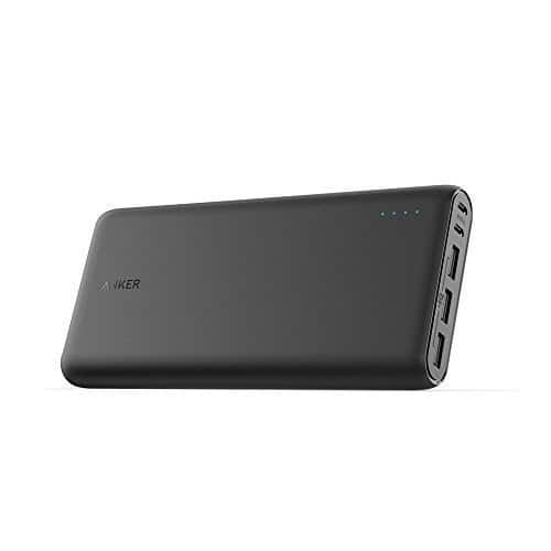Anker PowerCore 26800 Portable Charger, 26800mAh External Battery with Dual Input Port and Double-Speed Recharging, 3 USB Ports for 49.99 @ amazon.com