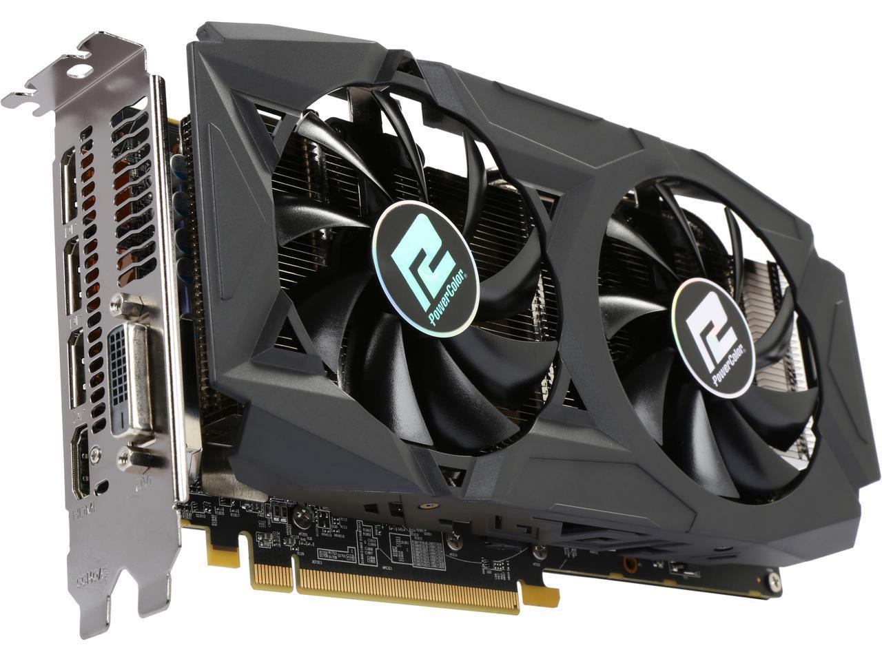 PowerColor RED DRAGON Radeon RX 580 DirectX 12 AXRX 580 8GBD5-3DHDV2/OC 8GB 256-Bit GDDR5 PCI Express 3.0 CrossFireX Support ATX Video Card AR $199.99