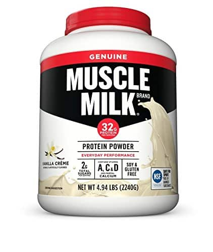 Amazon: Muscle Milk Genuine Protein Powder, Vanilla Crème, 32g Protein, 4.94 Pound-$33.58 plus 30% coupon