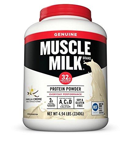 Amazon: Muscle Milk Genuine Protein Powder, Chocolate, 32g Protein, 4.94 Pound $33.72