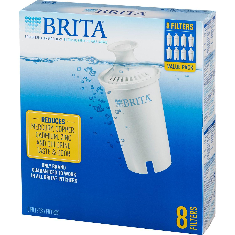 Sam's Club - 8 pk Brita Replacement Filters $24.98 in store pickup