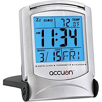 Amazon: Travel Alarm Clock Only $2.65 (Ships w/ $25 Order)