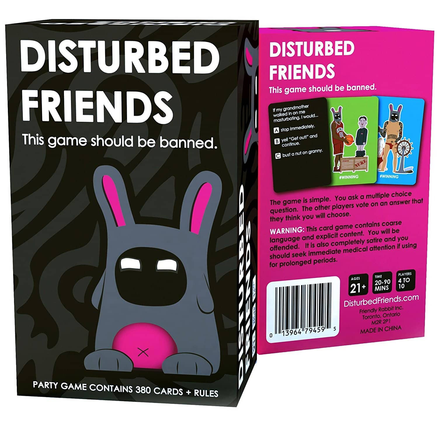 Disturbed Friends - This game should be banned  $15.99 Free S&h