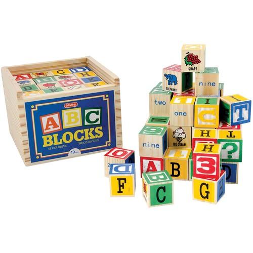 Schylling Alphabet Block [Schylling ABC Blocks] Only $8.68 Free S&h
