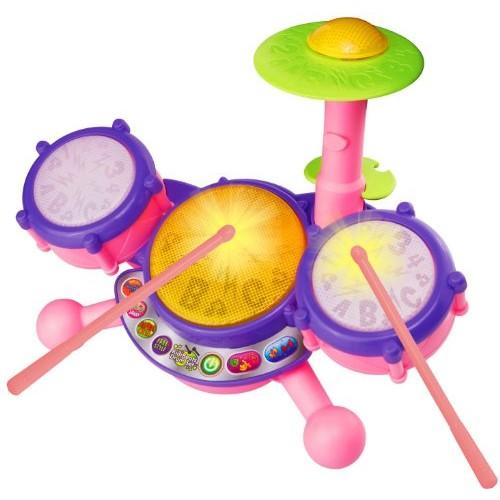VTech KidiBeats Drum Set - Pink - Online Exclusive $13.41 Free S&H