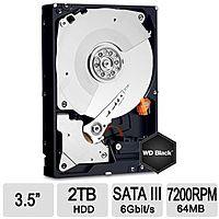TigerDirect Deal: WD Black 2TB Internal Desktop HDD WD2003FZEX ~90 shipped @ Tigerdirect no rebate!