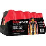 BodyArmor SuperDrink, Mixed Berry, 16 Ounce. 12 Pack for $11.88 (Or less with S&S)