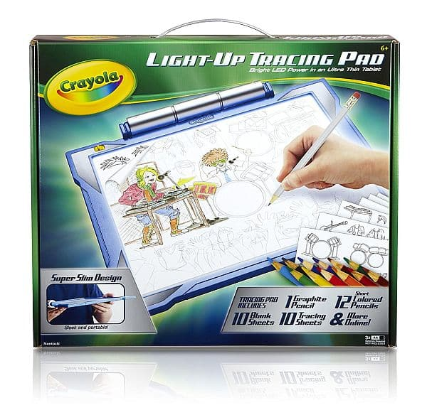 Crayola Light-up Tracing Pad - Blue, Coloring Board for Kids, Gift, Toys for Boys, Ages 6, 7, 8, 9, 10 For $10.49 @ Amazon