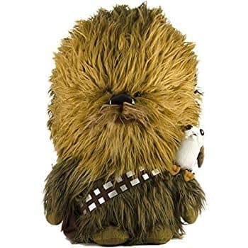 "[Amazon Exclusive] Star Wars: The Last Jedi, 24"" Talking Chewbacca & 6"" Porg Plush Toy For $35.00 (This usually sells for $60+)"