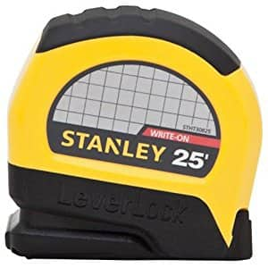"""Stanley STHT30825 Lever Lock Tape Rule, 25' x 1"""" For $3.99 (Add-On Item)"""