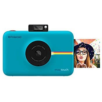 Polaroid Snap Instant Digital Camera (White) with ZINK Zero Ink Printing Technology For $76.49
