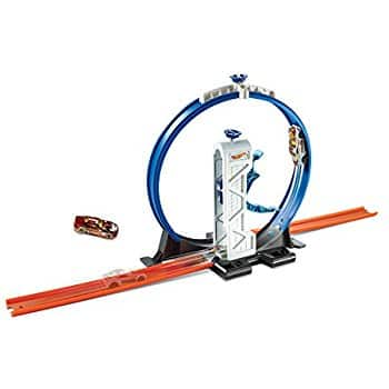 Hot Wheels Workshop Track Builder Loop Launcher Track Extension For $7.49 @ Amazon