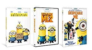 Price Mistake: Despicable Me / Despicable Me 2 / Minions shrink-wrapped bundle DVD For $5.49