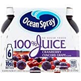 Ocean Spray Juice, Diet Cran Grape, 10 Ounce (Pack of 6) For $3.98 or less with S&S