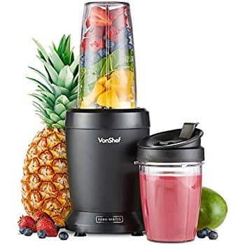 VonShef 1000W UltraBlend Personal Blender Nutrition Extractor - includes 1L Large Cup and 800ml / 27 floz cup For $20.00