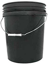 Hydrofarm HG5G 5-Gallon Black Bucket For $3.98 (Add-On Item)
