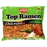 [Prize miztake] Nissin Top Ramen, Chili, 3 Ounce (Pack of 24) For $4.80