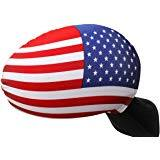 10 Pack: American Flag For Car Wing Mirror, (Will NOT fit on Trucks or XL Mirrors) For $11.99 @ Amazon