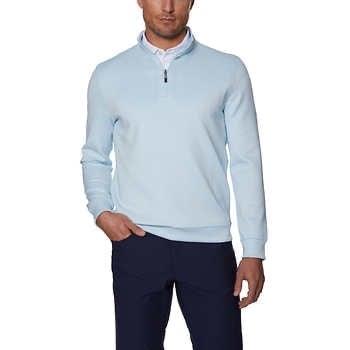 Costco: Hickey Freeman Men's Quarter Zip Pullover Sweater Sweatshirt  - $19.99