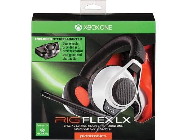 Plantronics Rig Flex LX xbox gaming headset with audio