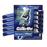 3-Count Gillette Mach3 Sensitive Disposable Razors $3.93, 3-Count Gillette Venus Tropical Disposable Women's Razors $4.10 + Free Shipping