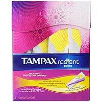 Amazon Deal: 16-Count Tampax Radiant Plastic Unscented Tampons (Regular or Super Absorbency) $0.70 & More + Free Shipping
