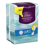 4-Pack of 20-Count Poise Moderate Pads $  4.60 + Free Shipping