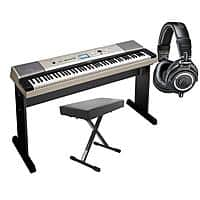 Adorama Deal: Yamaha YPG-535 88 Keys Portable Keyboard + On-Stage Deluxe X-Style Keyboard Bench + Audio-Technica ATH-M50x Headphones $500 + Free Shipping