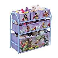 Disney Fairies Metal Multi-Bin Toy Organizer $14.99 at Walmart