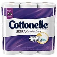 36-Count Cottonelle Double Roll Toilet Paper + $5 Target Gift Card