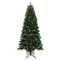 Holiday Living 7.5' Pre-Lit Artificial Alpine Christmas Tree
