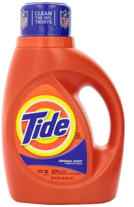 Tide liquid detergent 46oz - 50oz as low as $1 at Safeway and Affiliates