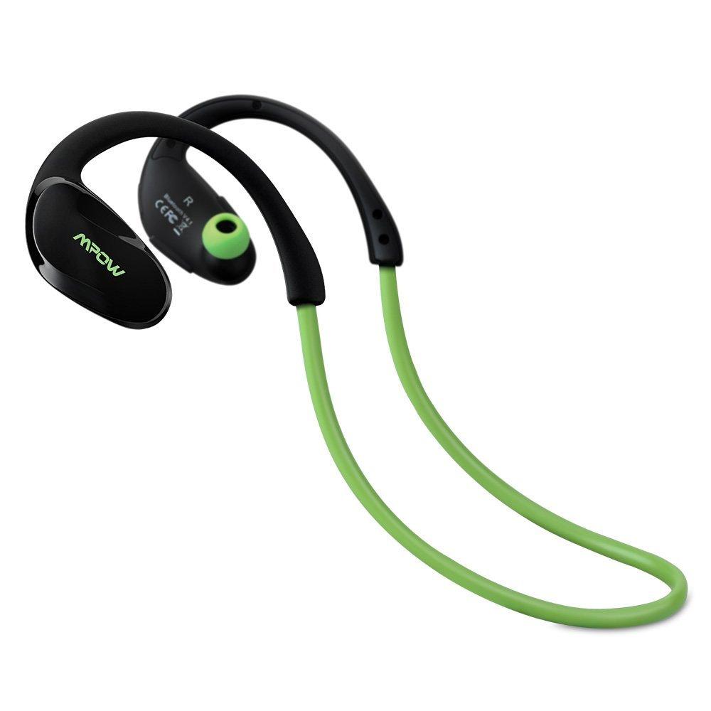 Mpow Cheetah Wireless Bluetooth 4.1 Sports Headphones  $10