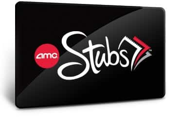 AMC Stubs Membership 25% off!  Only $9