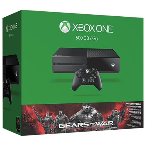 Xbox One 500GB Gears of War Bundle + Call of Duty: Black Ops III + $100 Dell Gift Card - $349.99 + Free Shipping @ Dell