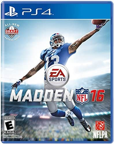 Madden 16 $24.99 Amazon, free shipping with Amazon Prime