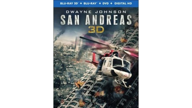 San Andreas 3D+Blu Ray+DVD+Digital HD $9.99 at Best Buy.