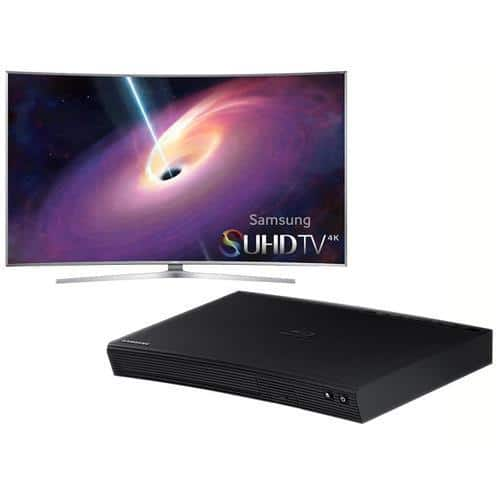 "55"" Samsung UN55JS9000 4K 120Hz 3D Curved HDTV +  Blu-ray Player  $1600 + Free Shipping"