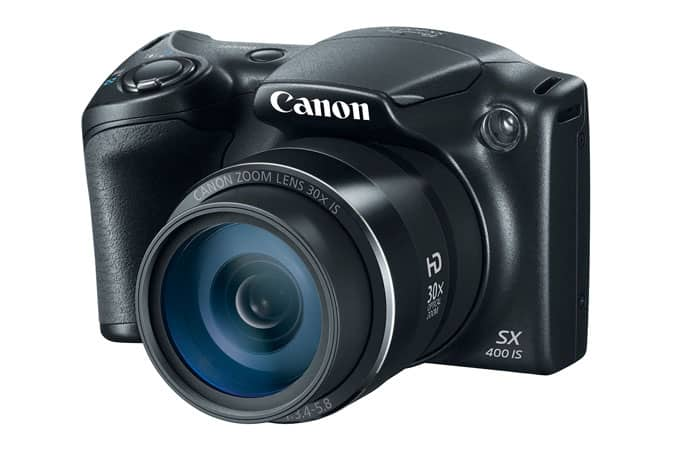 Canon SX400 IS Camera w/ 24-720mm Lens (Refurb)  $50 + Free Shipping
