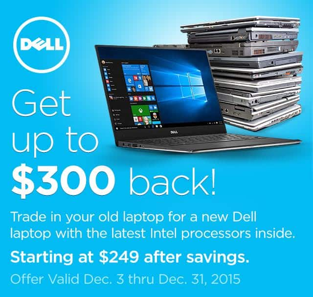 Trade-in Event: Microsoft Surface Pro 4 from $699, Dell Inspiron & XPS Laptops  from $250 After Trade-In + Free S&H