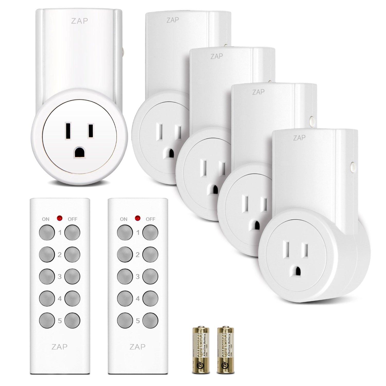 Etekcity Wireless Remote Control System 5Rx-2Tx at Amazon $21.46  ($30 - $8.50 w/code )
