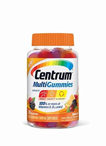 Centrum Multigummies Multivitamin, 70 Count - $2.76 AC + FS w/Prime