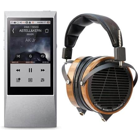 Audeze LCD-2 Planar Headphones + Astell & Kern AK Jr Music Player w/ DAC $995 + free shipping