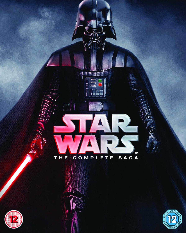 Amazon.uk: Star Wars - The Complete Saga [Blu-ray] [Region Free] $65 shipped