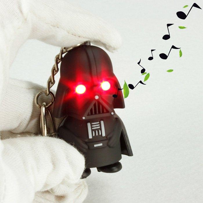 Star Wars Darth Vader Key Ring w/ Red Light $0.99 + Free Shipping