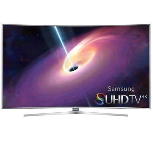 "55"" Samsung UN55JS9000 4K 120Hz 3D SUHD Curved HDTV  $1500 + Free Shipping"
