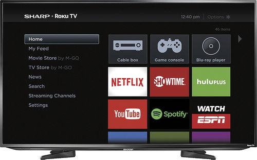 "50"" Sharp LC-50LB371U LED 1080p Smart Roku HDTV $379.99 + Free Shipping Bestbuy.com"