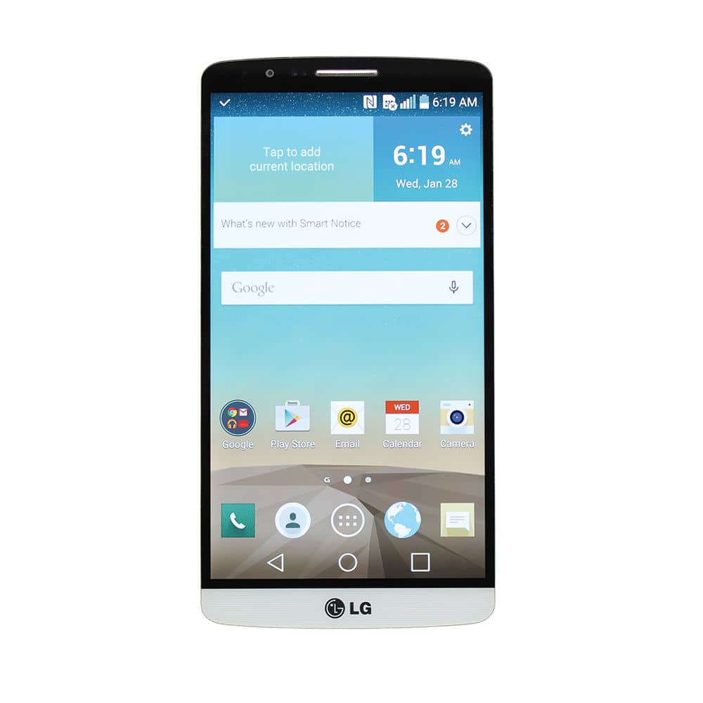 32GB T-Mobile LG G3 D851 4G LTE Unlocked Smartphone (Refurbished)  $150 + Free Shipping