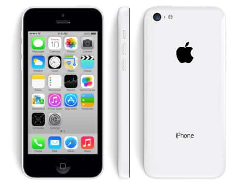 16GB Apple iPhone 5C GSM LTE Unlocked Smartphone w/ Case (Refurbished)  $125 + Free Shipping