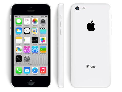 16GB Apple iPhone 5C GSM LTE Unlocked Smartphone w/ Case (Refurbished)  $125 + Free Shipping